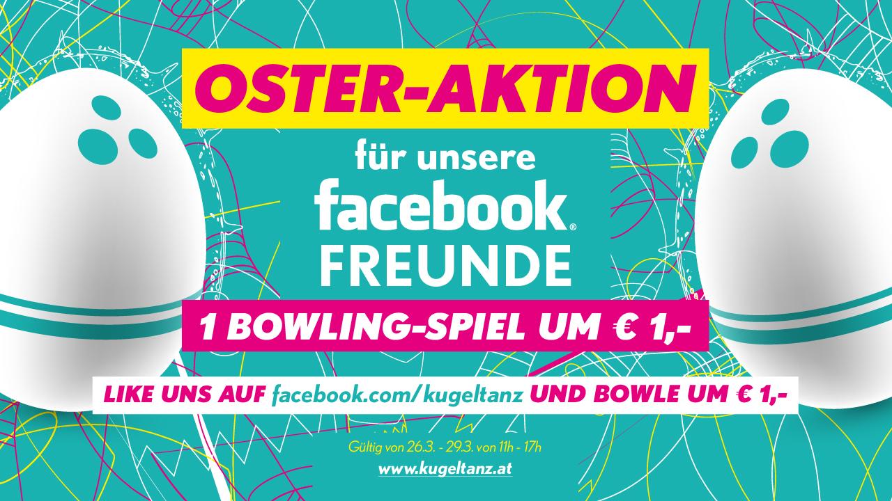 FB Seite liken & bowlen um € 1.-